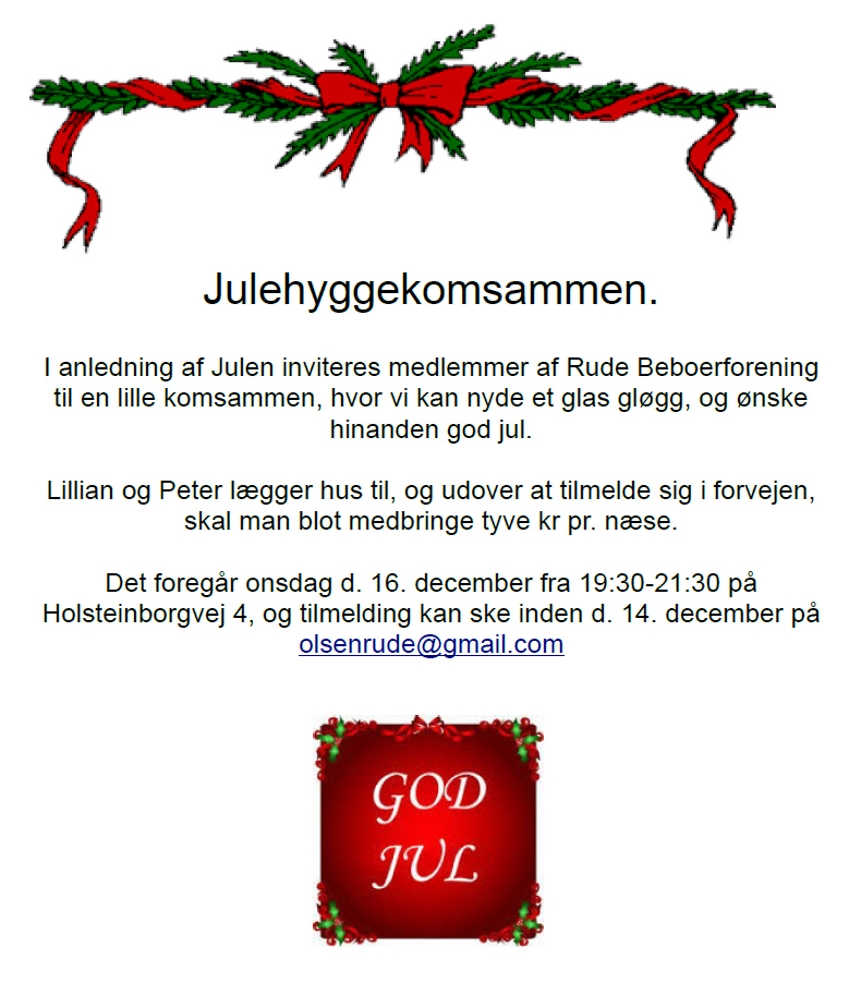 Julekomsammen