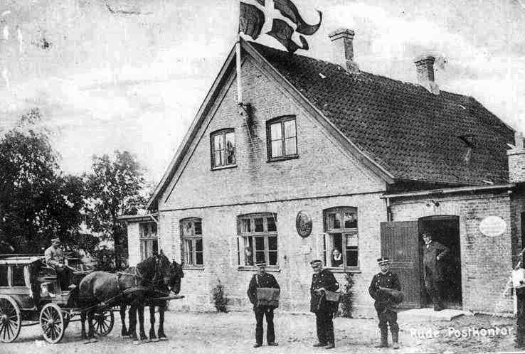 Rude Posthus før 1925